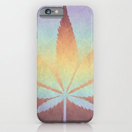 Somewhere over the rainbow, way up high iPhone Case
