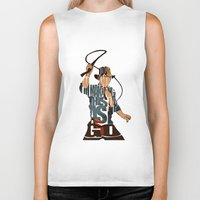 indie Biker Tanks featuring Indie by Ayse Deniz