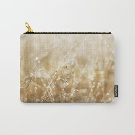 Golden Wild Oats wet with rain Carry-All Pouch