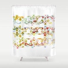 Arabesque pattern Shower Curtain