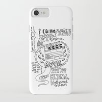 lettering iPhone & iPod Cases featuring Lettering Lyrics by Insait