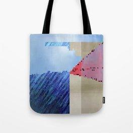 hard rain Tote Bag