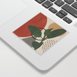 Nature Geometry III Sticker