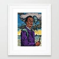dali Framed Art Prints featuring Dali  by Nicolae Negura