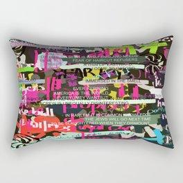 Ed Dorn - collected work Rectangular Pillow