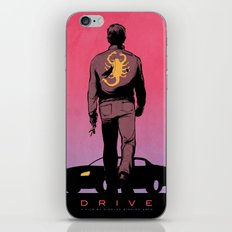 DRIVE Poster iPhone & iPod Skin