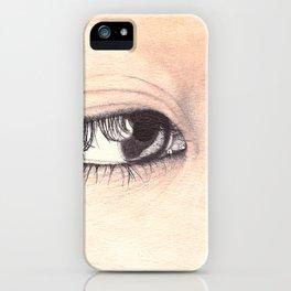 Araki iPhone Case