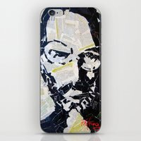 steve jobs iPhone & iPod Skins featuring Steve Jobs by Phil Fung