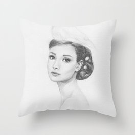 Nestled Throw Pillow