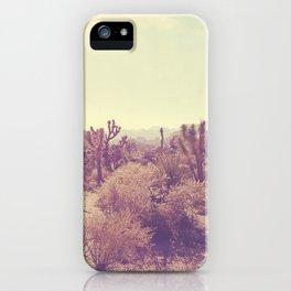Joshua Tree photo. No. 357 iPhone Case