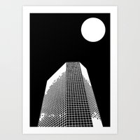 Moonscraper Art Print