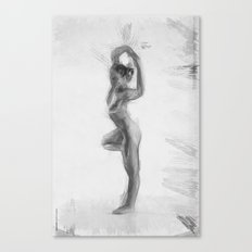 Standing Monika Canvas Print