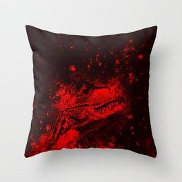 tyrannosaurus rex wsrb Throw Pillow