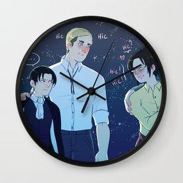 Eruri day 5 Wall Clock
