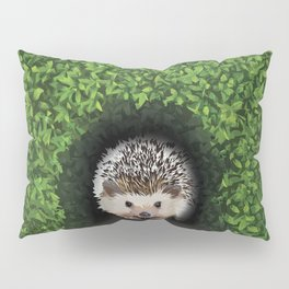 Little Hedgehog in the Hedge Pillow Sham