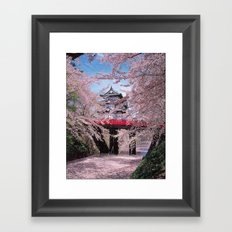 A Day in China Framed Art Print