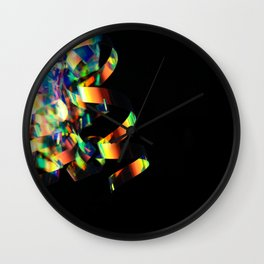 Iridescence Wall Clock