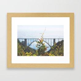 Gatsby Bridge Framed Art Print