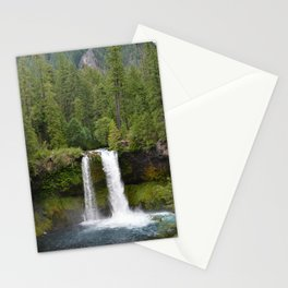Koosah Falls Oregon Stationery Cards