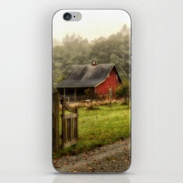 Red Barn iPhone Skin