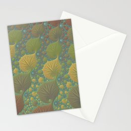 Moss Landing - Fractal Art  Stationery Cards