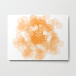 Super Orange Metal Print