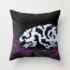 Urban Crawl Throw Pillow