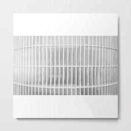 Estudio sobre blanco (las raicillas del presidio). Metal Print