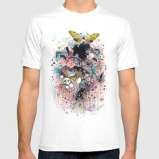 The Great Forage Mens Fitted Tee MEDIUM White