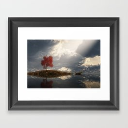 Between Heaven and Earth Framed Art Print