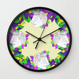 Dface Wall Clock