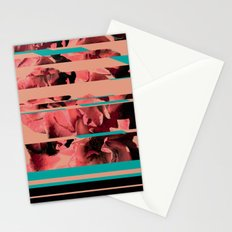 Divided Floral  Stationery Cards