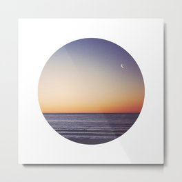 Tasman Twilight Metal Print