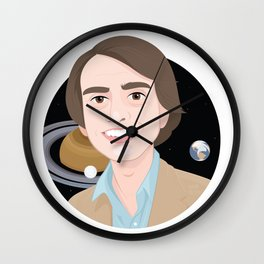 Carl and the Space Wall Clock