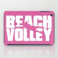 Beach volley iPad Case