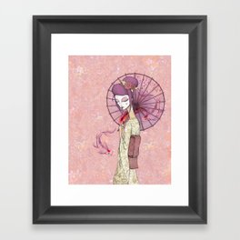 GFlowers Framed Art Print