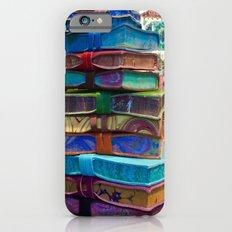 Hand MAde Books In Venice iPhone 6s Slim Case