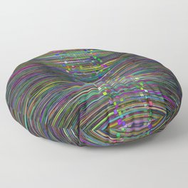 Kinetic Colors 2-40 Floor Pillow
