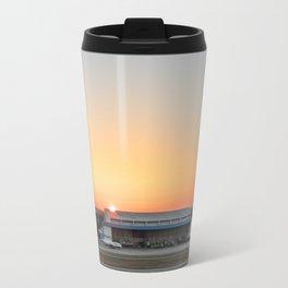 Sunrise Airport Travel Mug