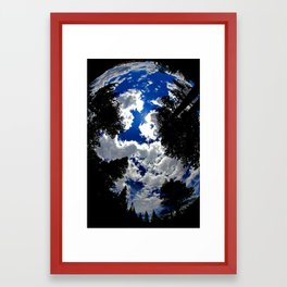 Up Above Framed Art Print