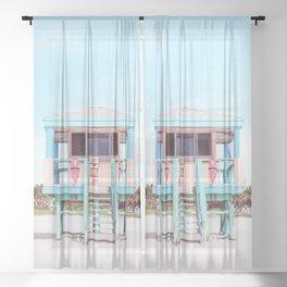 South Beach Sheer Curtain
