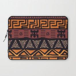 Tribal ethnic geometric pattern 021 Laptop Sleeve