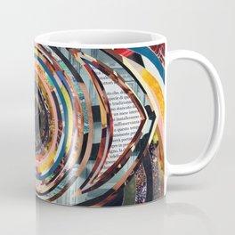 Rainbow Eyes Collage Coffee Mug