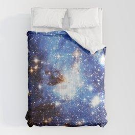 Blue Galaxy Comforters