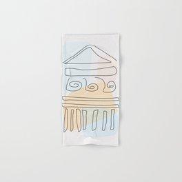 Antique Temple Hand & Bath Towel
