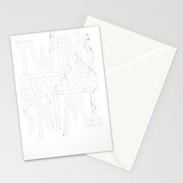 Twins-Since-1977---40th-Birthday-Gifts Stationery Cards