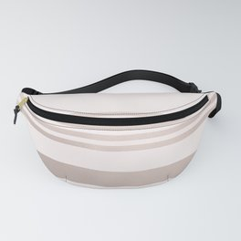 Rose Gold and Pink Stripes Mix Pattern 1 Fanny Pack