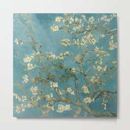 Almond Blossom - Vincent Van Gogh Metal Print