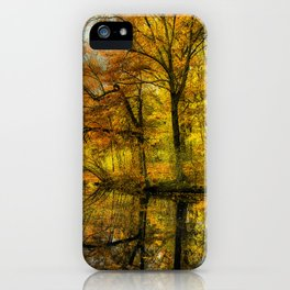 Fall colors of New England iPhone Case