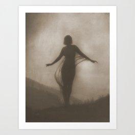 Anne Brigman Photograph - The Breeze, 1910 Art Print